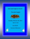 Anglican Church Pancake Supper