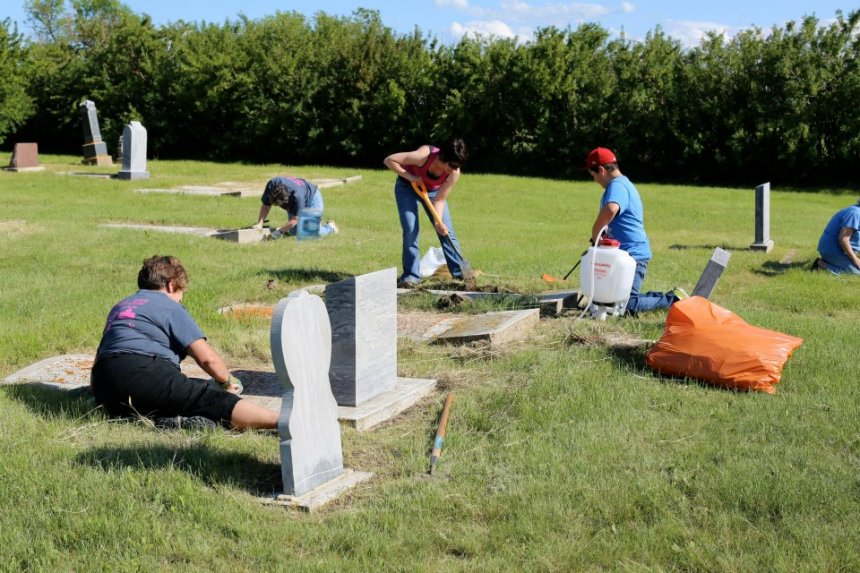 Grave Yard Cleanup