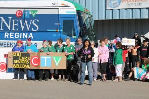 CTV Hometown Tour in downtown Gull Lake