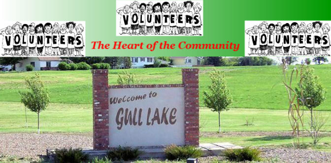 Volunteers in Gull Lake Saskatchewan