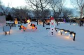 The festive displays will be 5 pm to 10 pm every night from 5pm to 10pm until January 1, 2017  We still have spots available for anyone wanting to set up a display. You can reserve a spot for your display by calling Sara at the Rec Office at 672-4449 or gl.recdirector@sasktel.net.