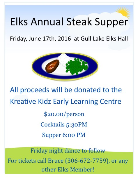 Elks Steak Supper