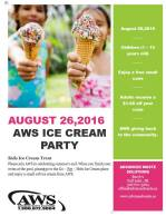 Advanced Waste Solutions Ice Cream Party