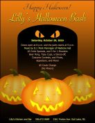 Lilly's Halloween Bash on October 29, 2016!