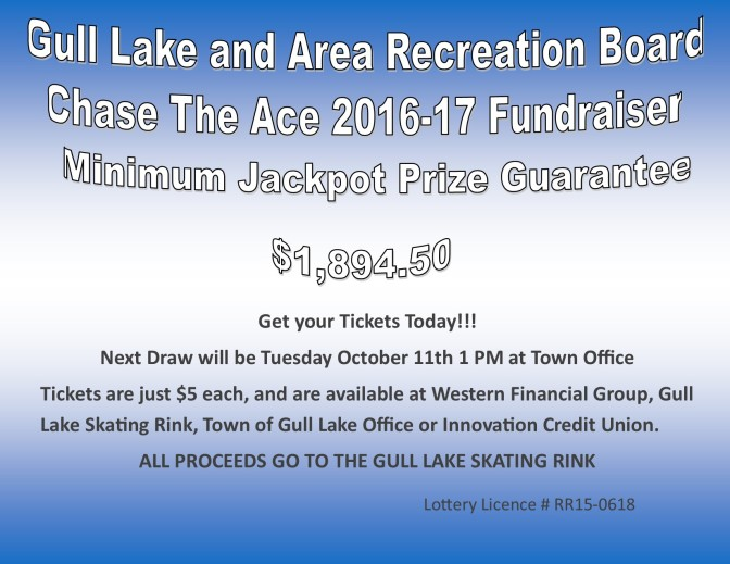 Chase The Ace 2016-2017 Fundraiser