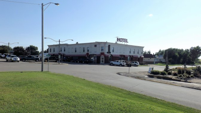 Town of Gull Lake Says Thanks for Helping with The Clarendon Hotel Fire