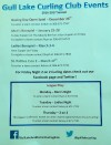 Gull Lake Curling Club Events