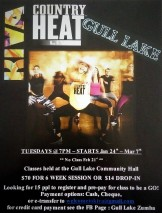 COUNTRY HEAT CLASSES AT THE GULL LAKE COMMUNITY HALL