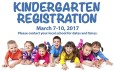 If you have a child joining GLS in Kindergarten this Fall, please stop in any day during the week of March 7th- 10th between 8:00 and 3:30 to register.