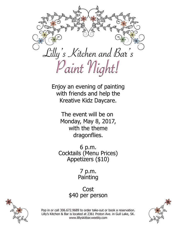 Lilly's Kitchen and Bar Paint Night